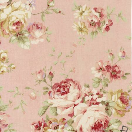Patchworkstoffe,Rosenstoffe,Lecien,Durham Quilt Collection,