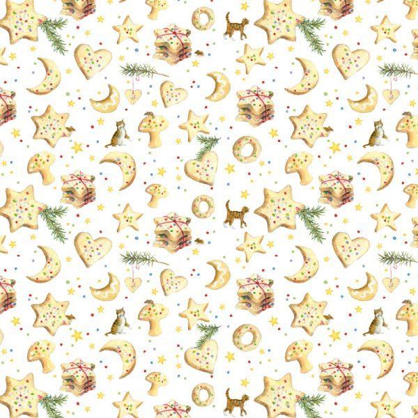 Patchworkstoff Stoff von Acufactum mit illustrationen von Daniela Drescher