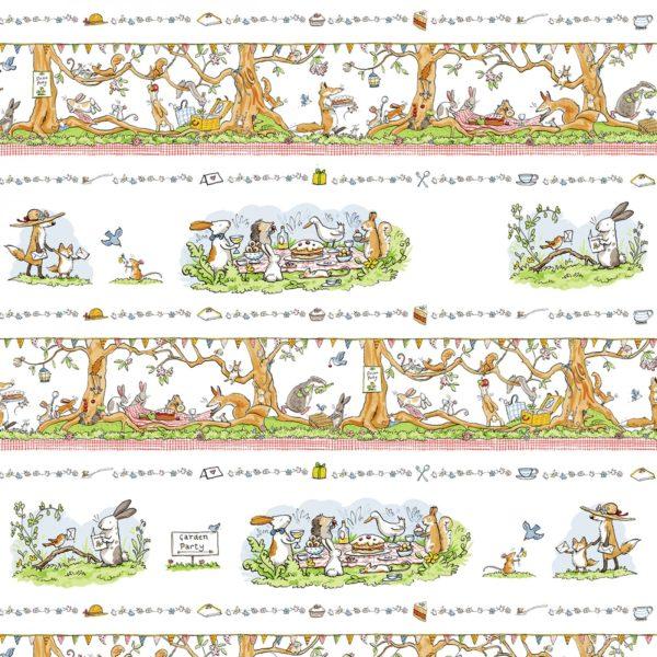 Patchworkstoff,Stoff,Anita Jeram,Clothworks,Gardenparty,