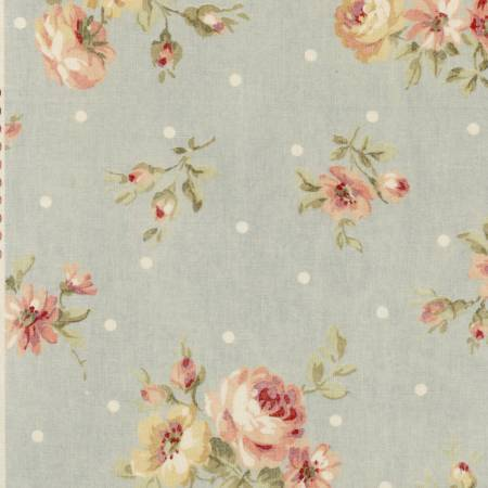 Lecien,Rosenstoffe,Durham Quilt Collection,Patchworkstoffe,