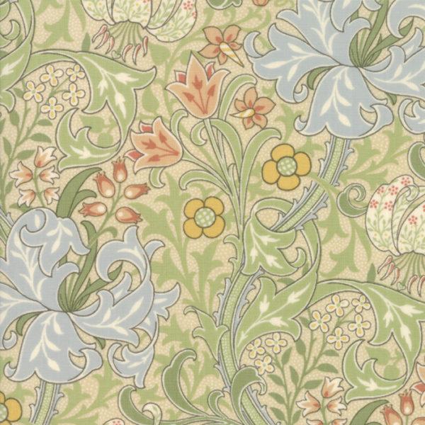Jugendstilstoffe,Patchworkstoffe,Moda,William morris,7330-11,morris garden