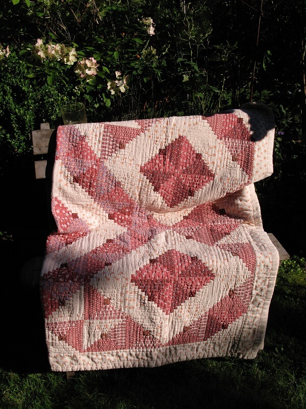 Rosequilts Decke Patchwork