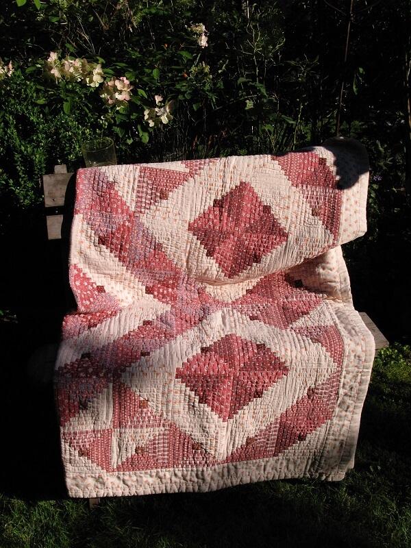 Rosequilts Decke Patchwork