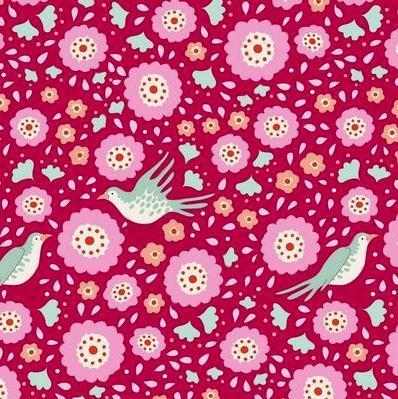 Tilda ,Bird Pond ,Lovebirds,