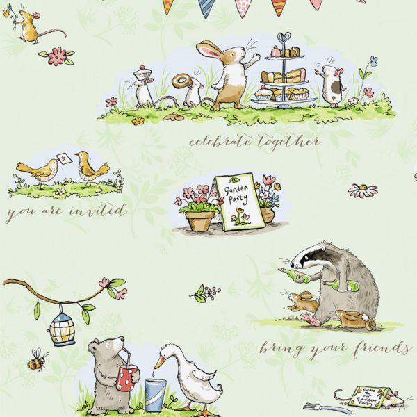 Patchworkstoffe,Clothworks,Anita Jeram, Kinderstoffe,Gardenparty,