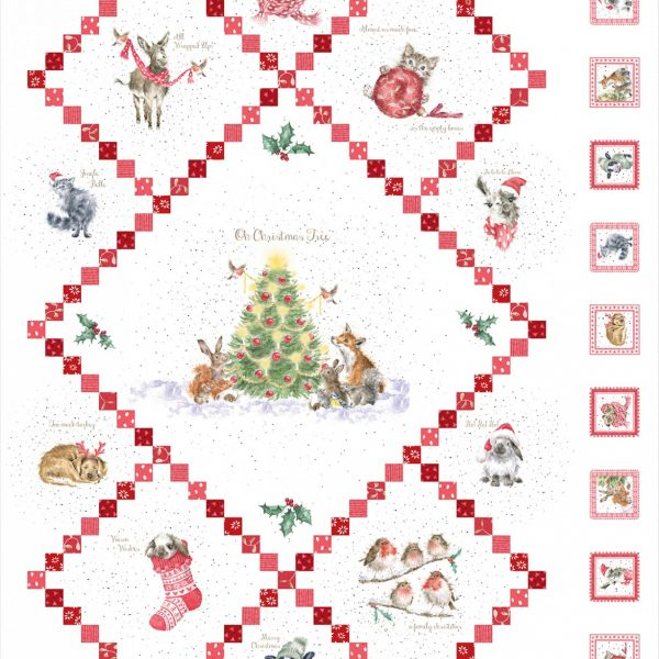 Winterliche Paneele warm wishes von Hannah Dale of Wrendale designs
