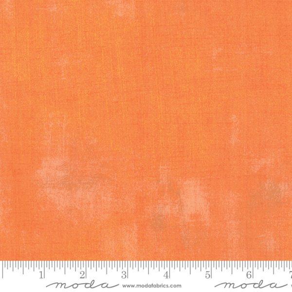 Marmorierter Stoff von Moda aus der Serie Grunge die Farbe Clementine