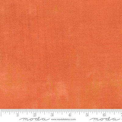 Patchwokstoff von moda aus der Serie Grunge die Farbe Papaya