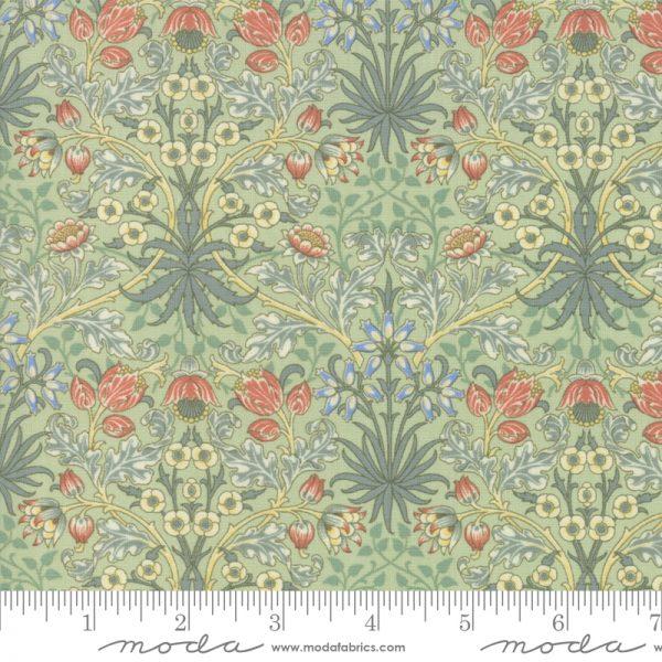 Nachdruck eines Jugendstilstoffes von William Morris / Hyacinth