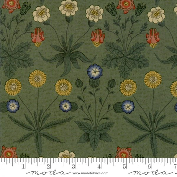 Jugendstilstoff von William Morris