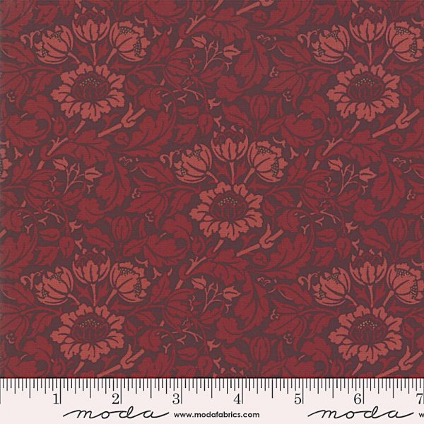 Nachdruck des Jugendstilstoffs Flowering Scroll von William Morris