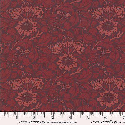 Nachdruck des Jugendstilstoffs Flowering Scroll von William Morris