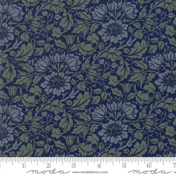 Flowering Scrolls ein Jugendstilstoff von William Morris