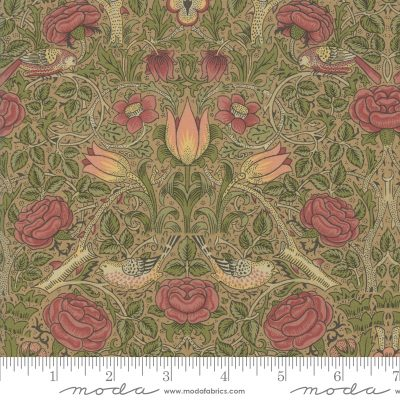 Nachdruck Jugendstillstoff von William Morris