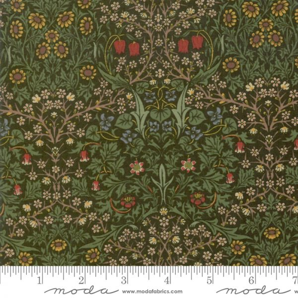 Jugendstilstoff von William Morris Blackthorn