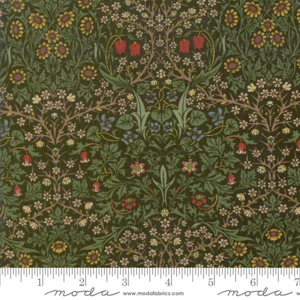 Jugendstilstoff von William Morris Blackthorn