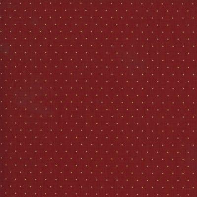 Punktestoff von Moda in Rot